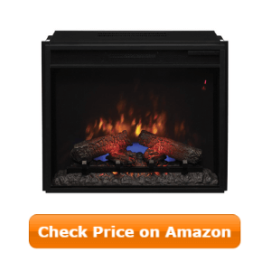 best electric fireplace insert for home