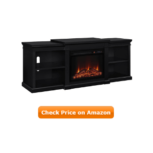 Ameriwood Home Manchester Electric Fireplace TV Stand