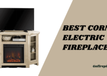 best corner electric fireplace
